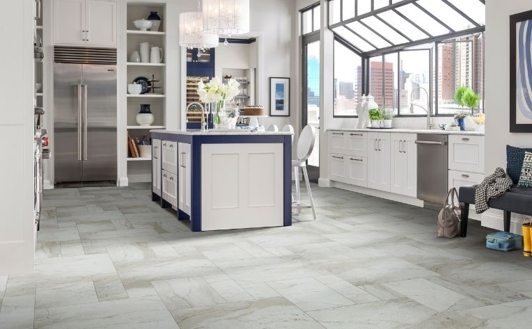 Living space with Waterproof Tile